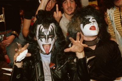 KISS Fans in Makeup