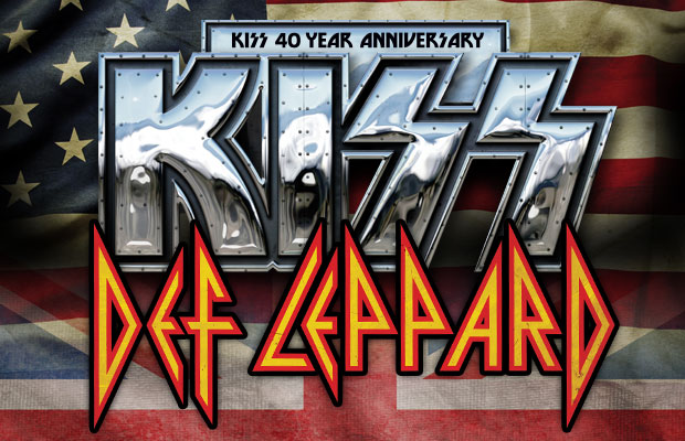 KISS / Def Leppard Summer Tour Promo