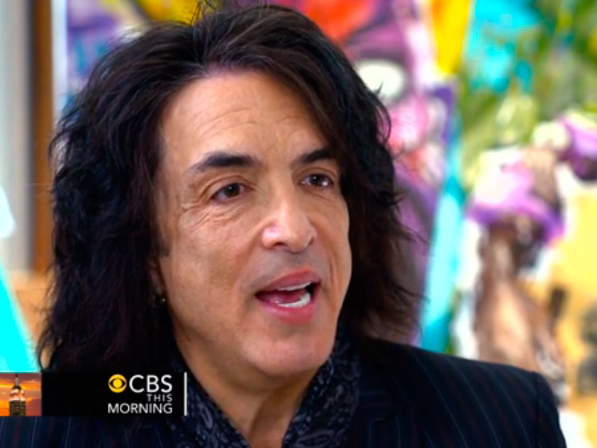 CBS This Morning med Paul Stanley