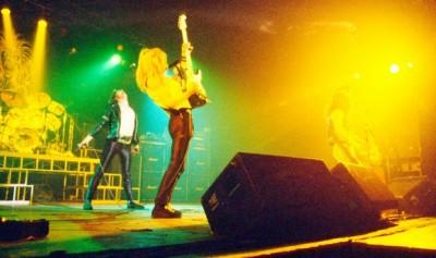 Iron Maiden abriendo para KISS en 1980
