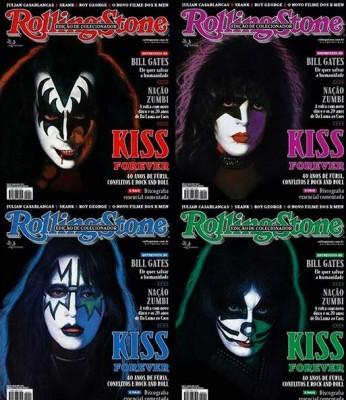 Rolling Stone Brasilien hyllar Kiss