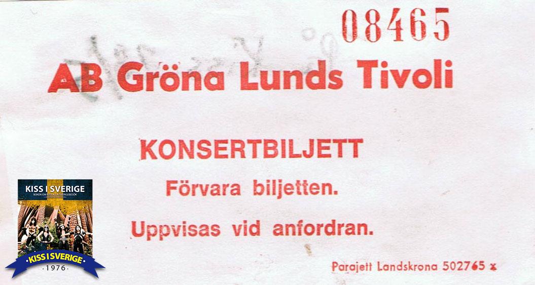 Kiss drar rekordpublik till Gröna Lund