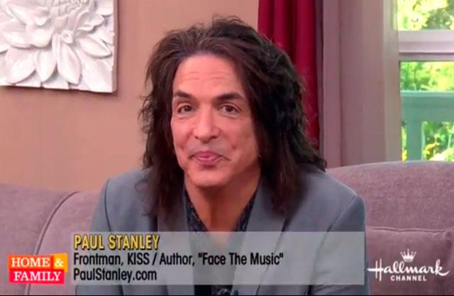 "Paul Stanley intervju – ""Home & Family"""