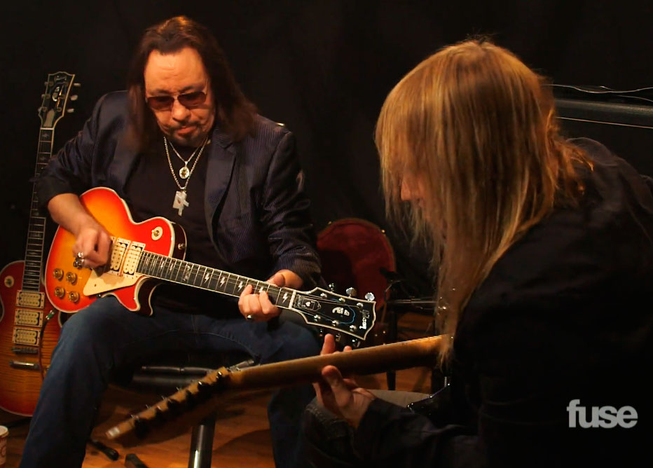 Ace Frehley & Chris Caffery talar om sina influenser