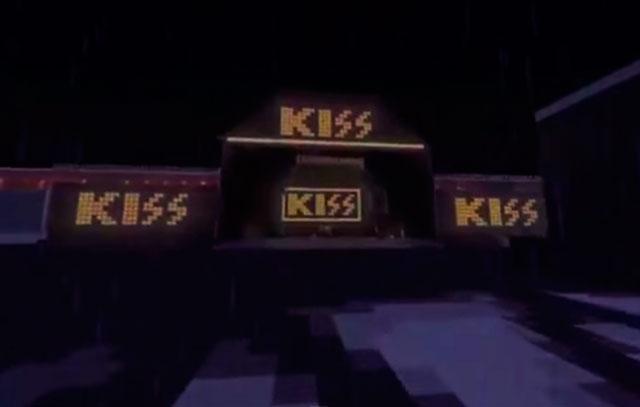 Minecraft tribute till Kiss