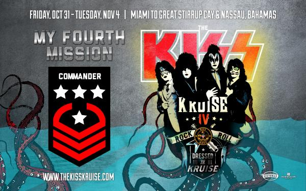 Idag seglar KISS Kruise 4 iväg…