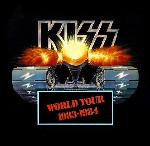 Idag 1983 inledde kiss sin usa kanada del av lick it up turnén på