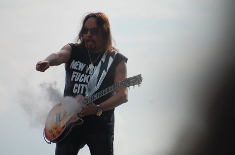 Ace Frehley  på Sweden Rock Festival…