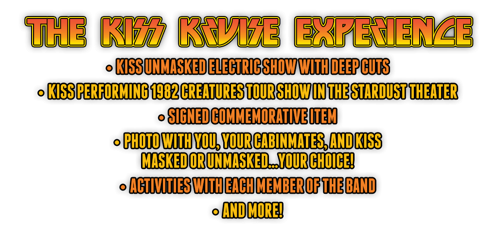 KISS Kruise VI – Creatures Of The Night!