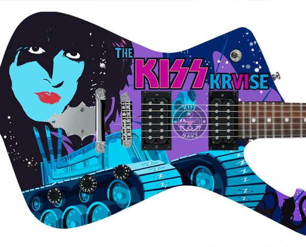 Beställ Paul´s gitarrer på kommande KISS Kruise…