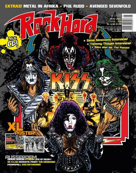 Senaste tidningarna med KISS på omslaget…