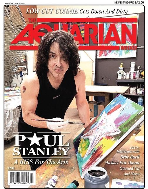 Paul på omslaget….