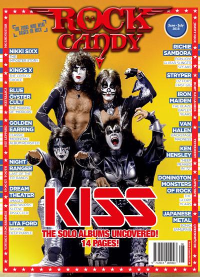 KISS på omslaget