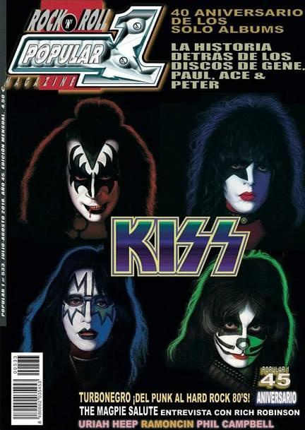 KISS är på omslaget….