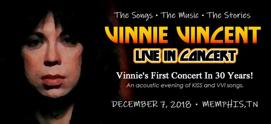 Vinnie Vincent första spelning på 30 år!