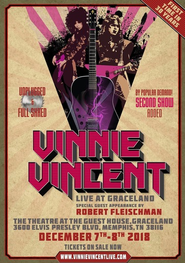 Vinnie Vincent extra konsert….