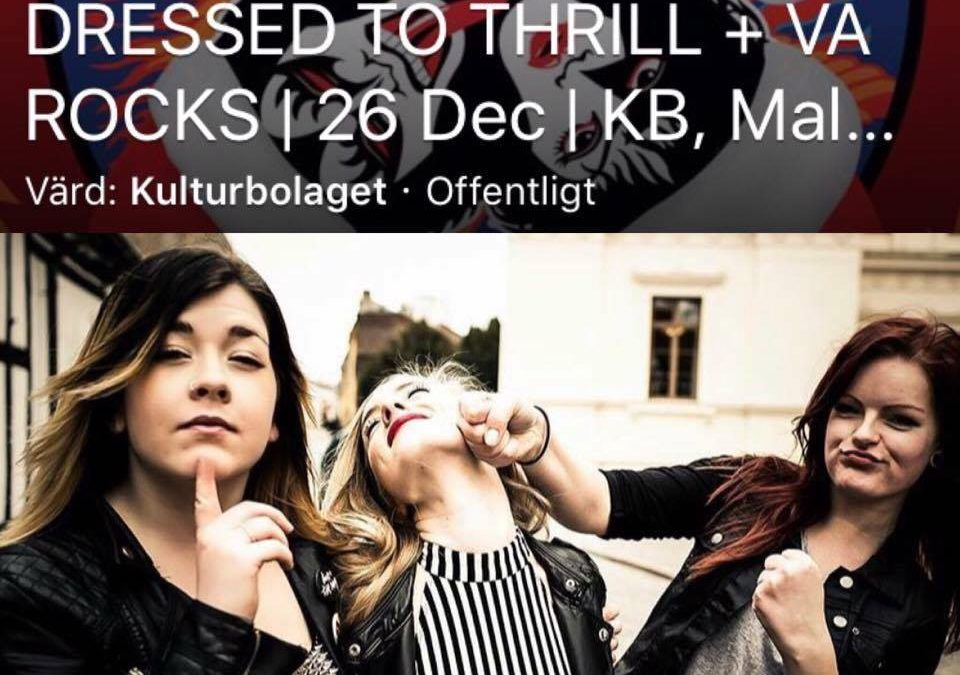 Missa inte Dressed To Thrill….