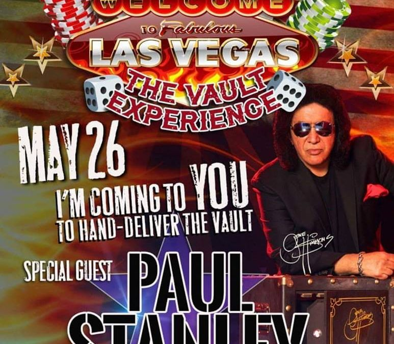 Paul gästar The Vault i Vegas…
