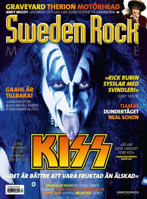 Nya Sweden Rock Magazine…