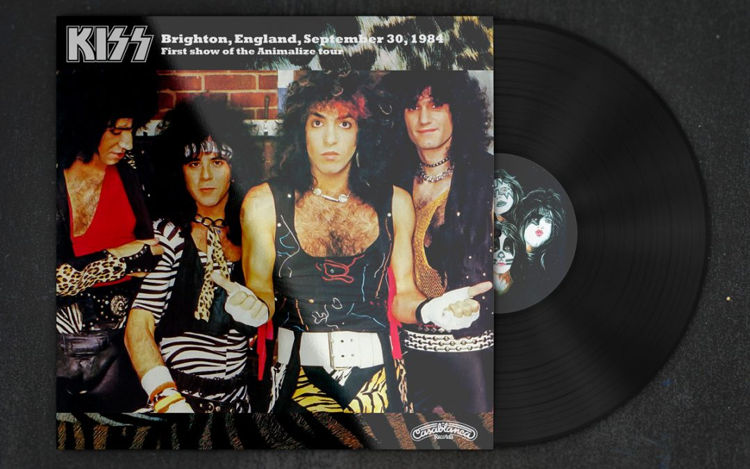 KISS – Brighton, England, September 30, 1984