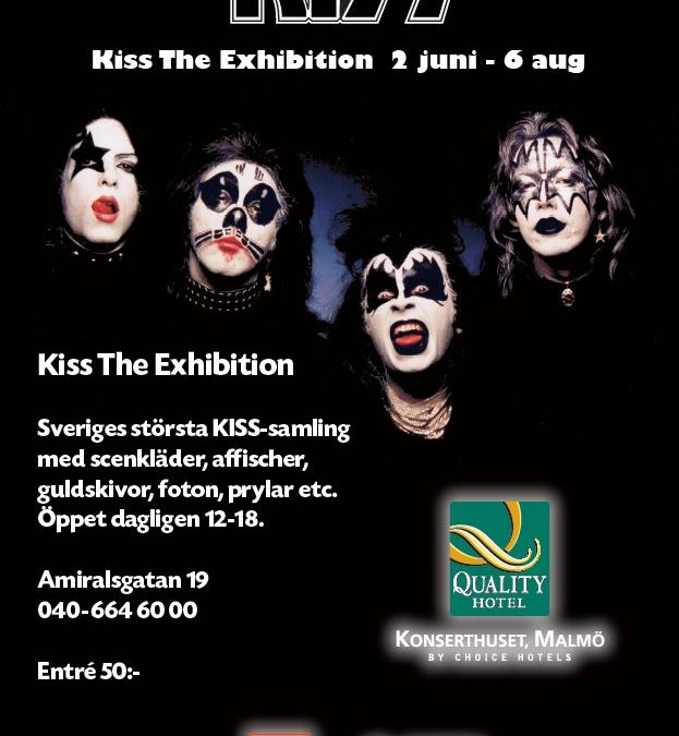 KISS The Exhibition Malmö
