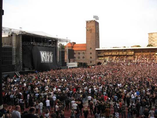 Kiss Stadion, Stockholm 2008