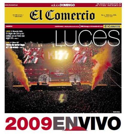 KISS årets händelse i Peru.