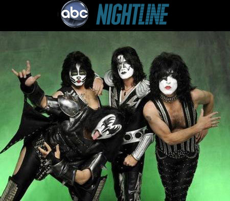 KISS on ABC's Nightline – 1/5/10