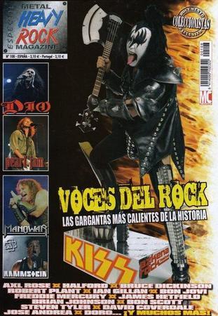 Gene Simmons på spanska Heavy Rock Magazine