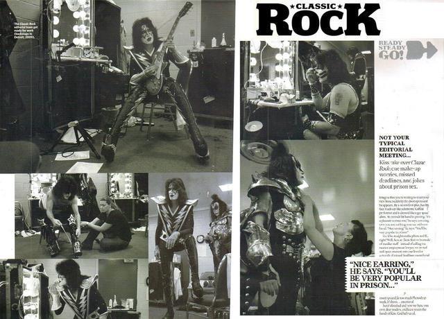 KISS i Classic Rock Magazine