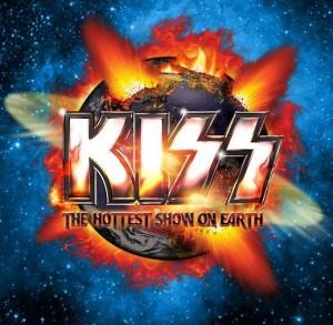 Kiss spelar i Nordamerika