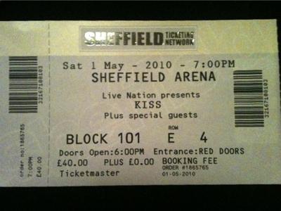 Direkt rapport från Sheffield Arena