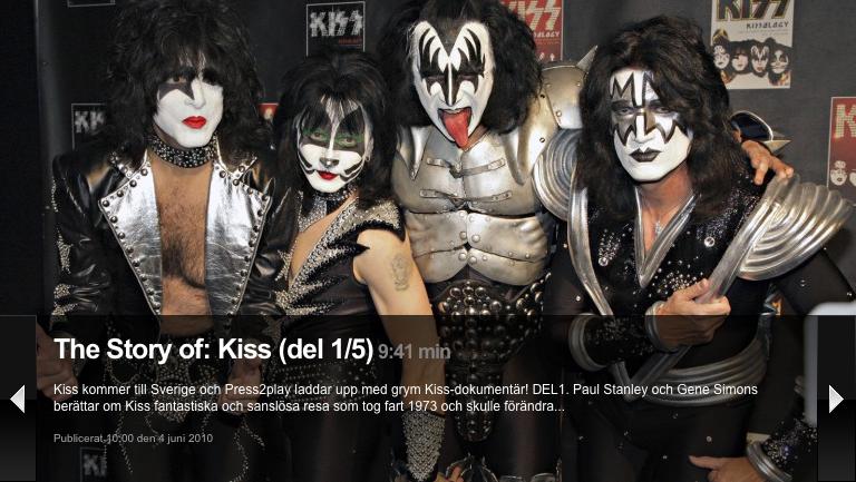 KISS Story hela veckan…