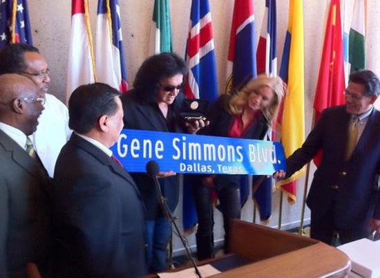 Gene Simmons – Key to the city