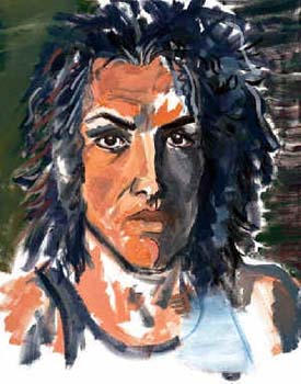 Paul Stanleys målningar
