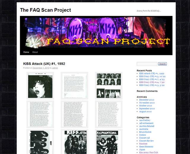 Webbtips – The FAQ Scan Project
