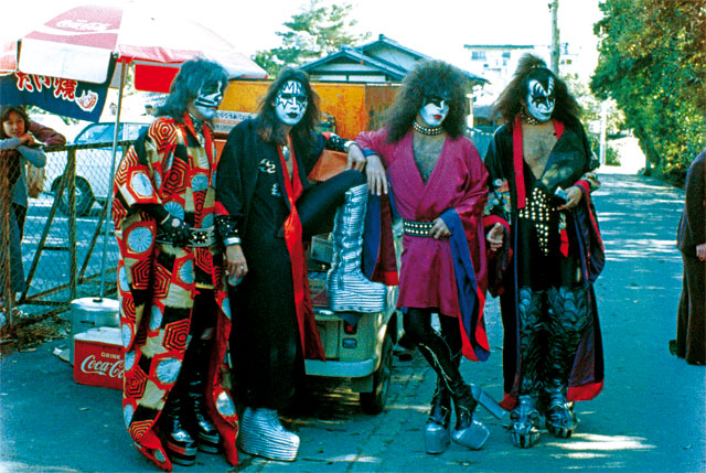 KISS återvänder till Japan