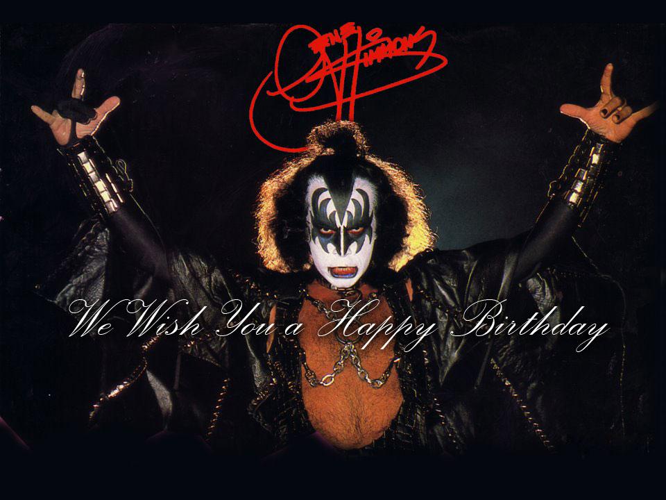 ett hjärtligt grattis på födelsedagen Grattis på födelsedagen Gene Simmons! | Destroyer  Kiss Army Sweden ett hjärtligt grattis på födelsedagen