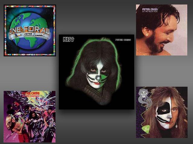 Bästa solo album med Peter Criss?