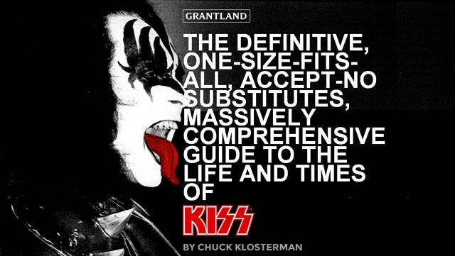 Webbtips – KISStory by Cuck Klosterman
