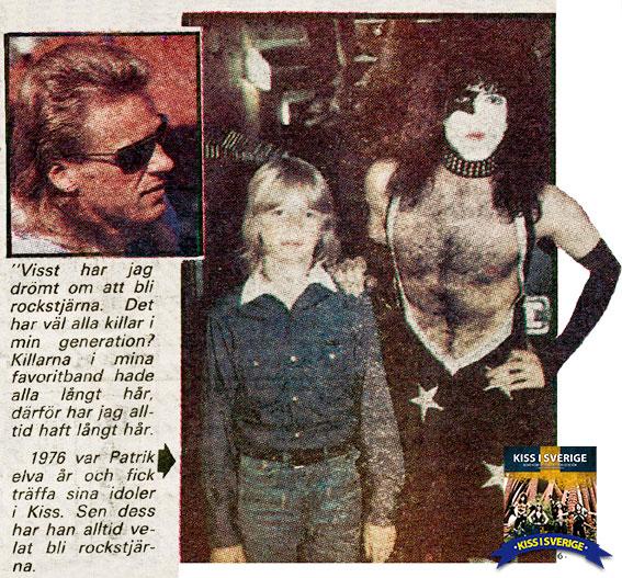 Patrik Sjöberg träffar Kiss