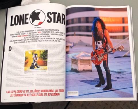 KISS i nya Sweden Rock Magazine