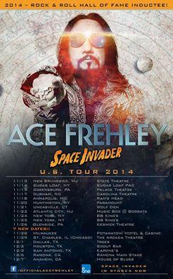 Nya Ace datum i USA…