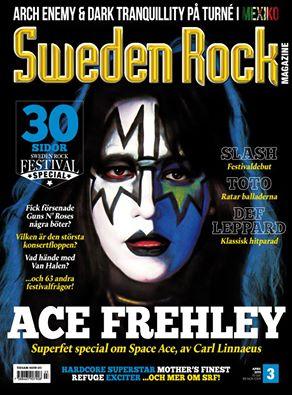 Nya Sweden Rock Magazine….
