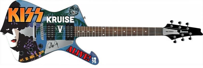 Special-gitarr på KISS Kruise till salu….