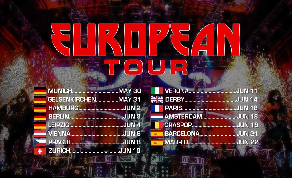 Snart Europa-turné!