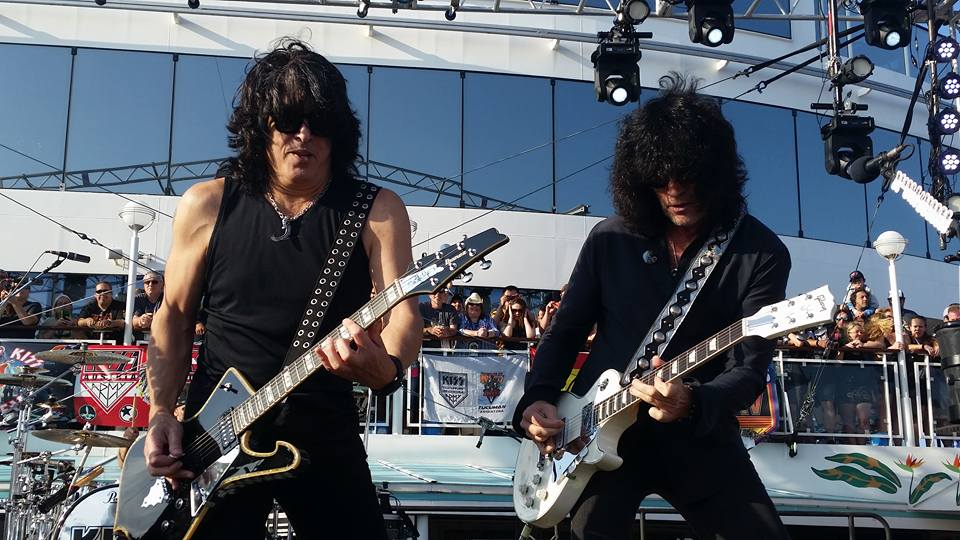 Set-list KISS Kruise….