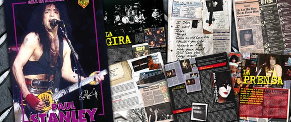 Ny bok om Paul Stanley´s Solo-turne 1989