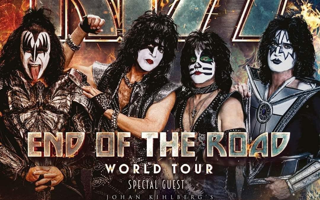 KISS flyttar fram turnén…